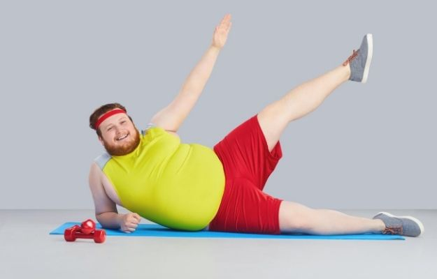 a man wearing sport clothes and doing work out | Is working out 30 minutes a day enough to lose weight?| Why Can't I Lose Weight!? | 6 Stubborn Weight Loss FAQs